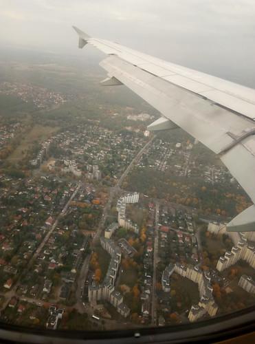 берлин под крылом самолёта
