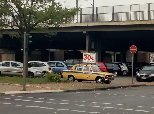 ВАЗ-2106 в берлине