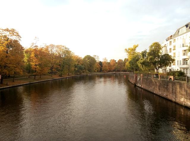 золотая осень в берлине