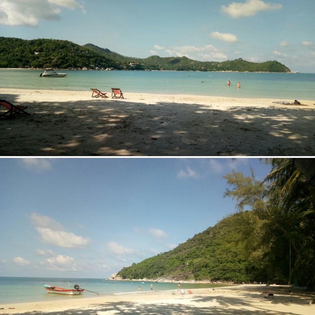 пляжи острова панган