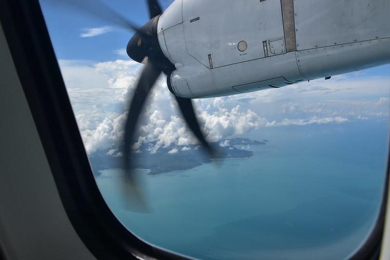 Самолёт из Бангкока на Самуи