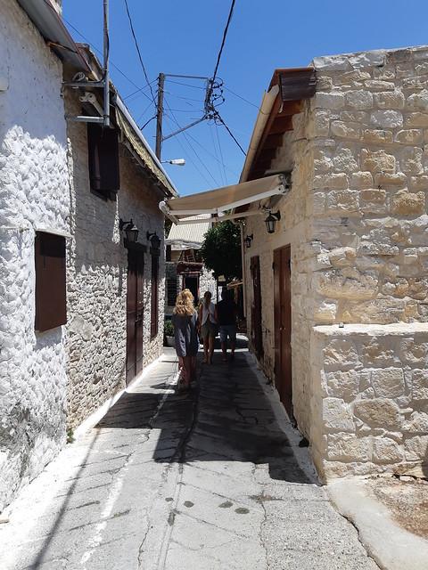 деревни кипра - омодос