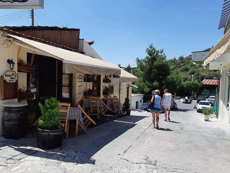 Кипр омодос деревня