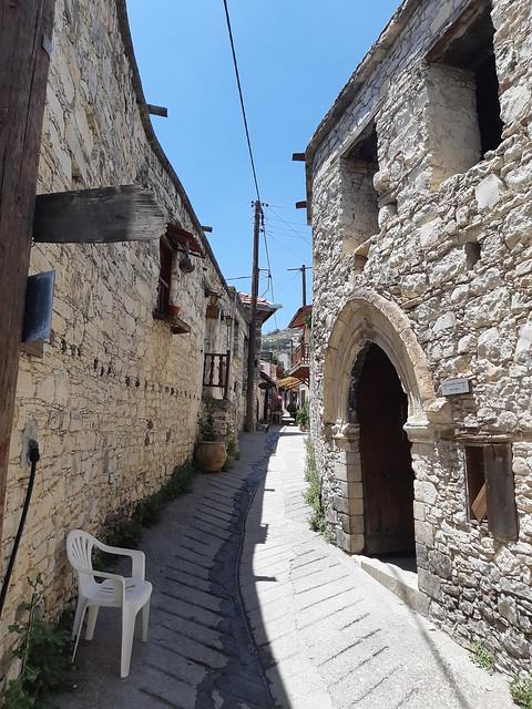 Кипрская деревня Омодос