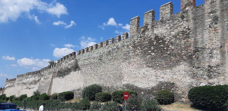 салоники греция древняя стена