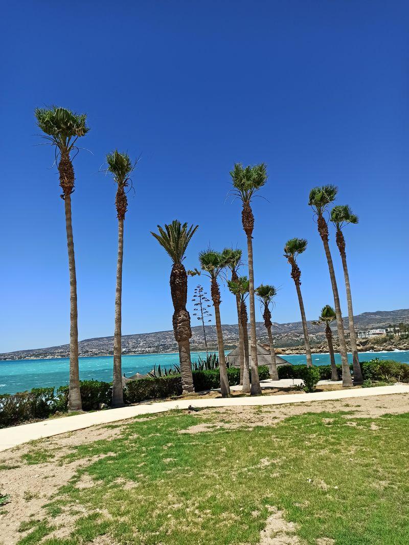 Кипр, Киссонерга, море