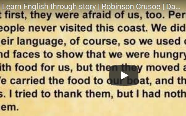 Отличная практика английского - Робинзон Крузо