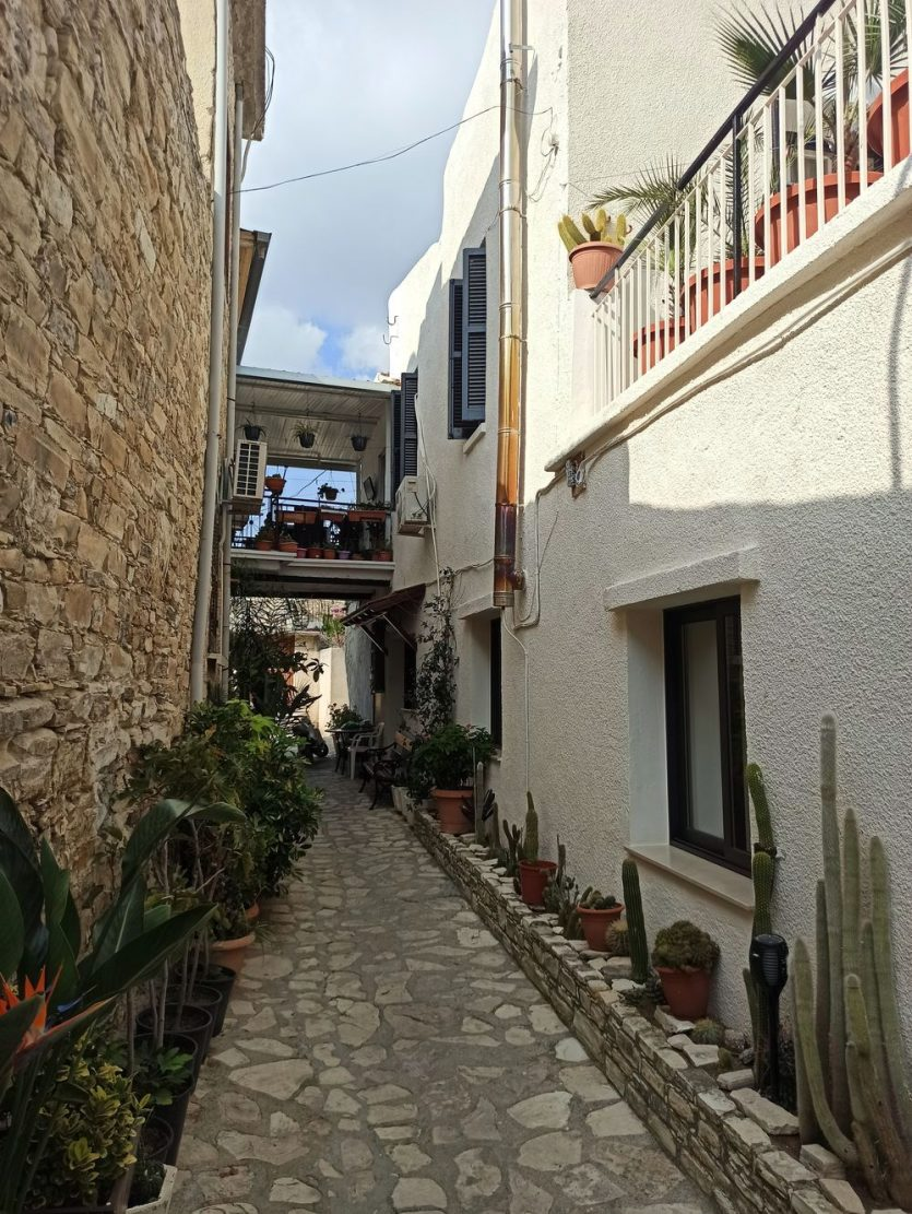 Деревня Лефкара на Кипре