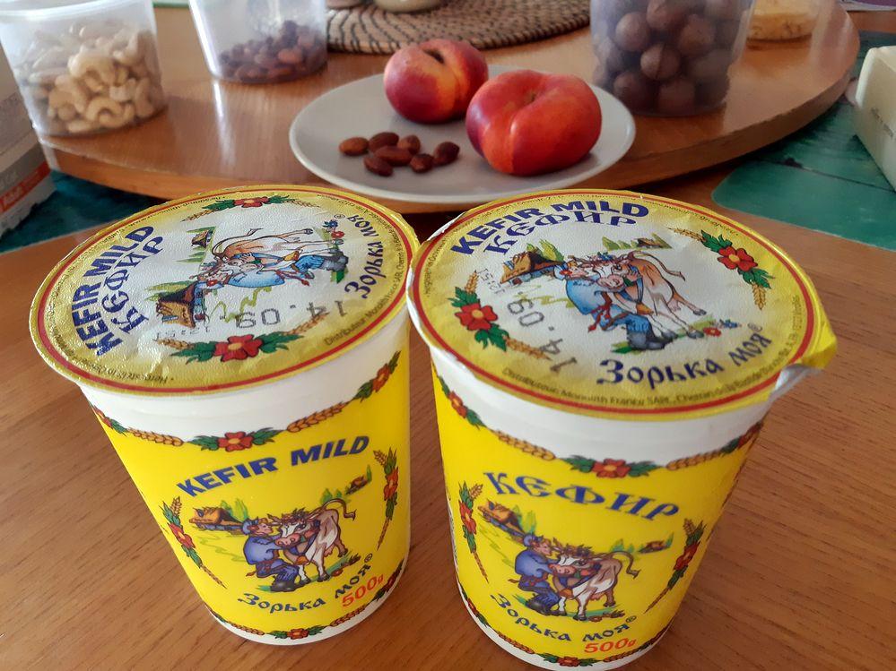 Кефир и другие русские продукты на Кипре