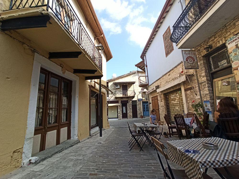 pano lefkara village cyprus