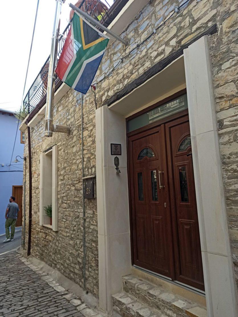 South Africa consul SAR lefkara cyprus