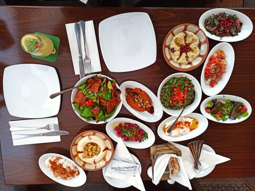 Ливанские вегетарианские блюда
