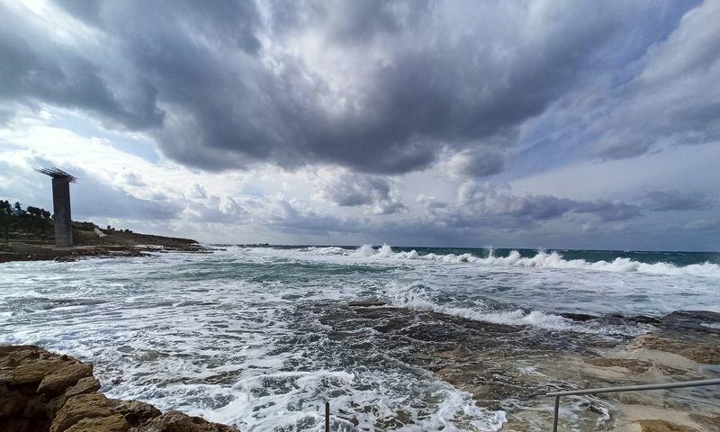 Кипр Хлорака Пафос Зима